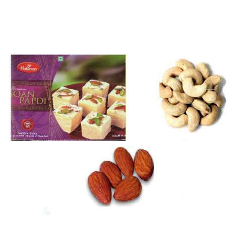 Soan Papdi & Dry Fruit Hamper - 11054 - Canada Delivery Only