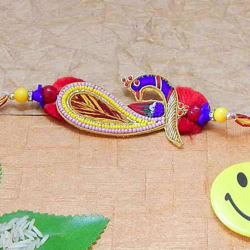 Elegant Spark Rakhi - USA Delivery Only