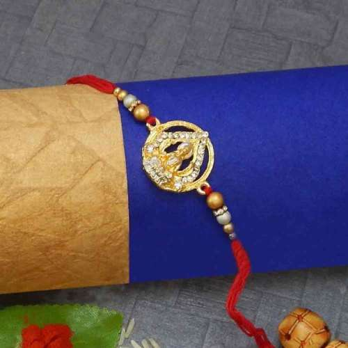 Goddess Lakshmi Rakhi - USA Delivery Only