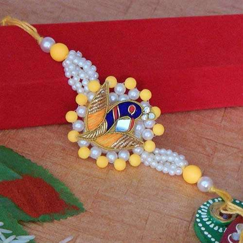 Marvellous Peacock Rakhi - AUSTRALIA  Delivery Only