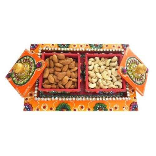 Vertical Dry fruits box with Mixed Dry Fruits 300 gms