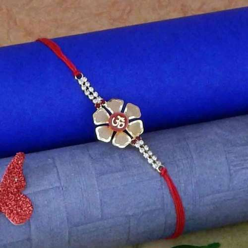 Exquisite Om Rakhi Thread - AUSTRALIA Delivery Only