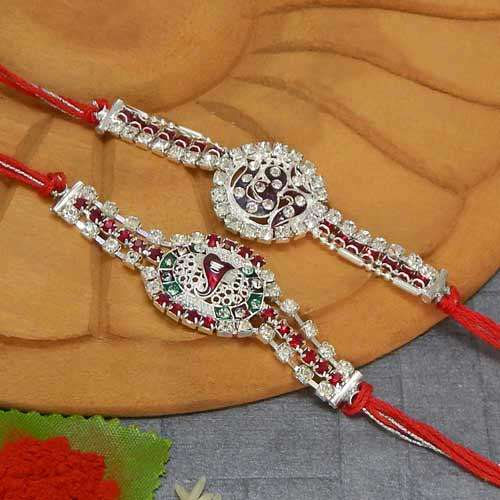 Rakhi Set  - 17 - AUSTRALIA Delivery Only