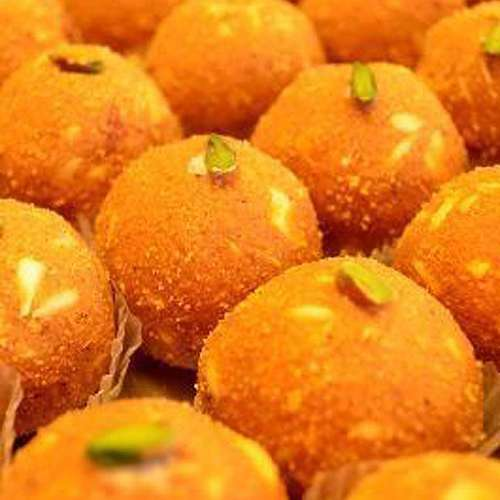 Besan Shahi Laddoo 350 gms - USA Delivery Only