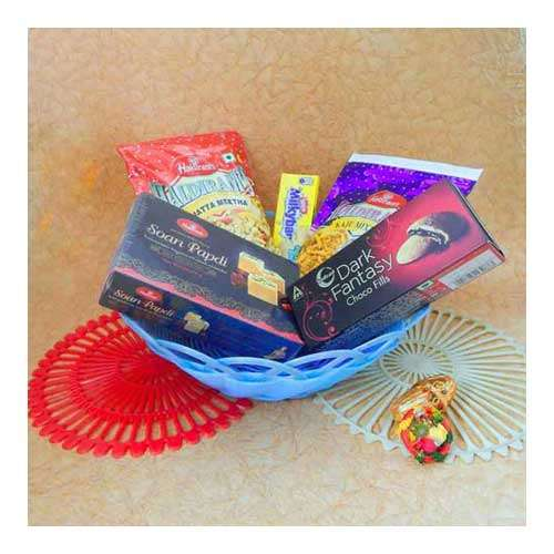 Chocolate Hamper With Basket - UK Delivery Only
