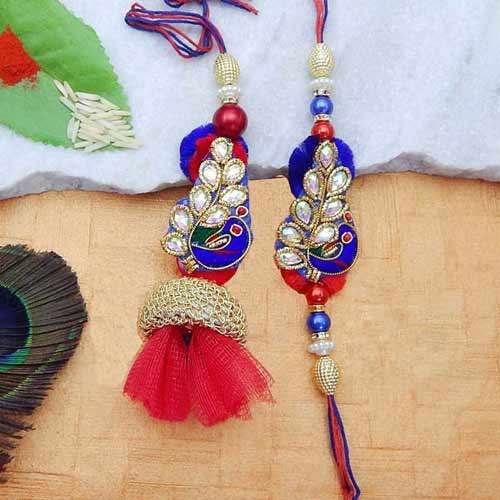Pleasing Rakhi Lumba Set