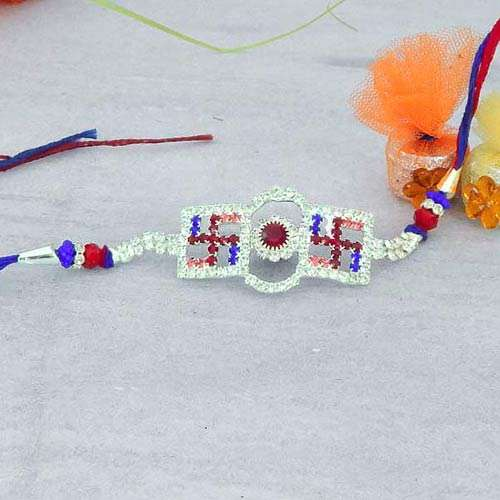 Auspicious Stone Rakhi - USA Delivery Only