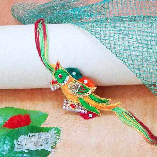 Elegant Bird  Rakhi - Add On