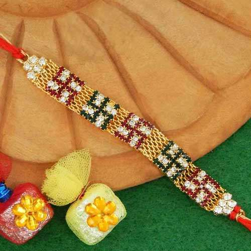 Marvellous Swastik Rakhi - 02 - Add On