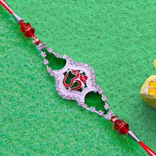 Elegant OM Rakhi - Add On