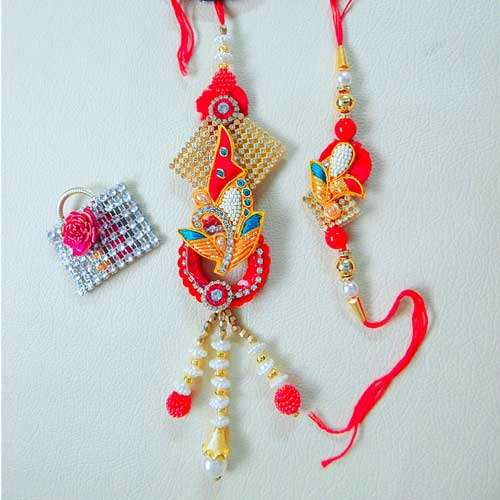 Charismatic Rakhi Lumba Set - 3