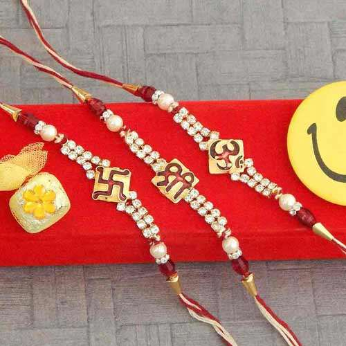 Rakhi Set  - 03 - AUSTRALIA Delivery Only