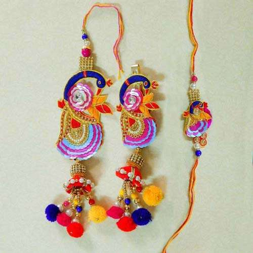 Splendid Rakhi Lumba Set - 2