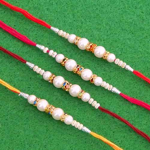 Rakhi Set  - 05 - CANADA Delivery Only