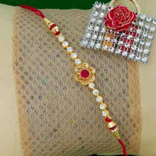 Enticing Floral Rakhi - CANADA Delivery Only