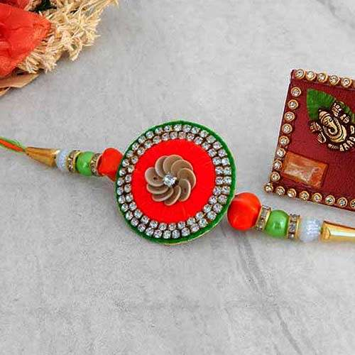 Exquisite Rakhi - CANADA Delivery Only