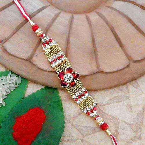 Floral Beauteous Rakhi - CANADA Delivery Only