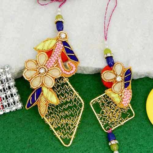 Glorious Rakhi Lumba Rakhi - CANADA Delivery Only