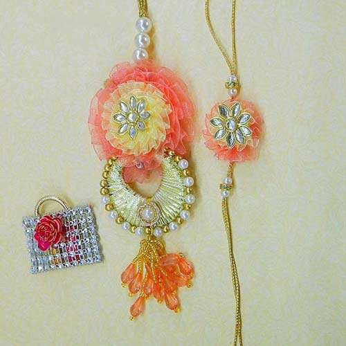 Unique Rakhi Lumba Set - Australia Delivery Only