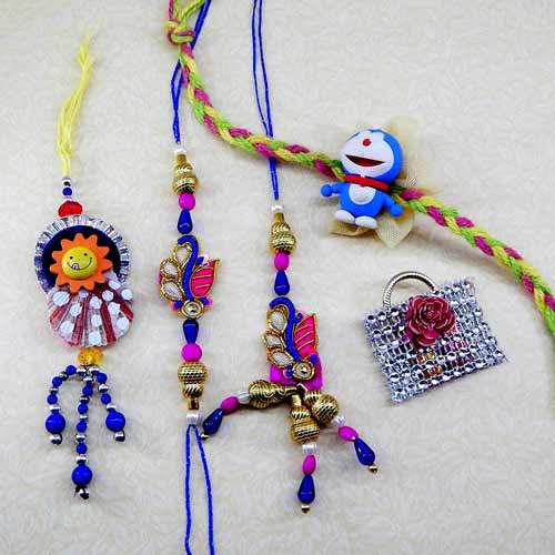 Family Rakhi Set - 04 - USA Delivery Only