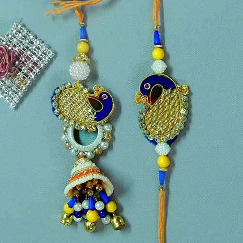 Tantalizing Rakhi Lumba Set - 3 - CANADA Delivery Only