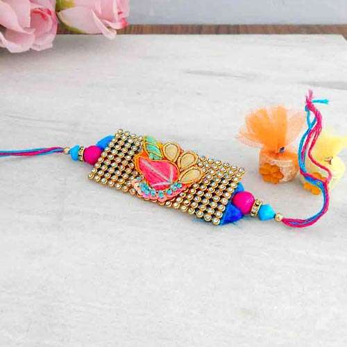 Charming Designer Rakhi - UAE Delivery Only