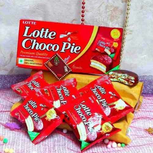 Lotte Choco Pie Chocolate - USA Delivery Only