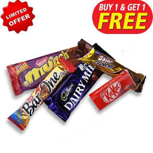 Cadbury Chocolate Hamper-1 - Buy 1 Get 1 Free - Australia Only