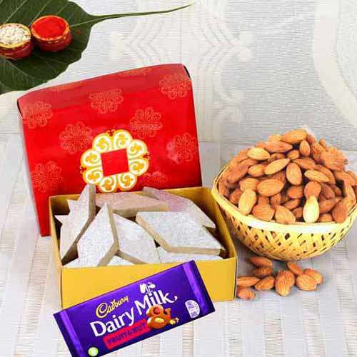 Chocolate With Sweet & Badam - USA Delivery Only