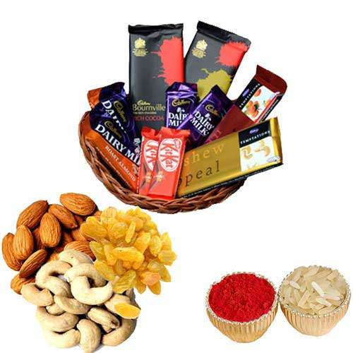Chocolates With Dry Fruits - USA Delivery Only
