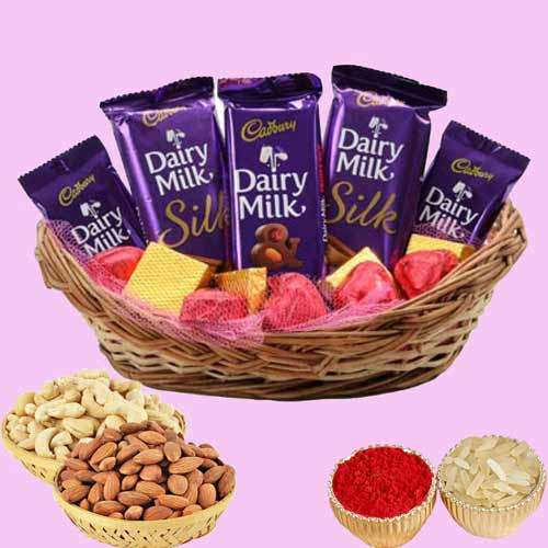 Dry Fruits With Chocolates - UK Delivery Only
