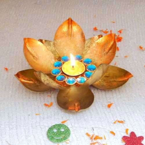 Lotus Diya - USA Delivery Only