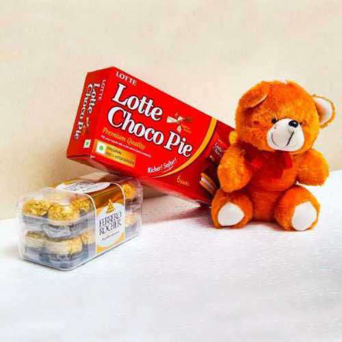 Chocolate & Teddy - Australia Delivery Only