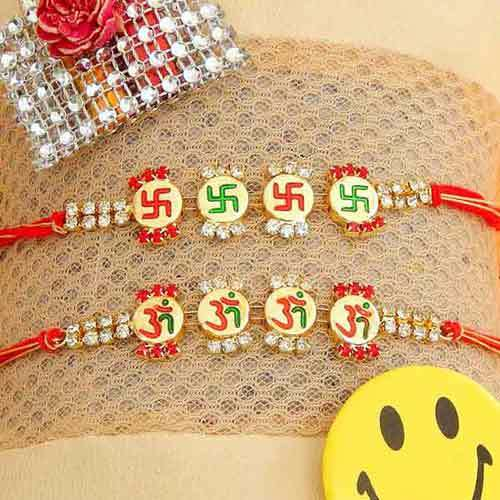 Rakhi Set  - 07 - UK Delivery Direct