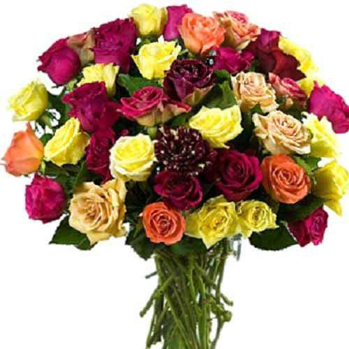 12 Mixed Rose Bouquet
