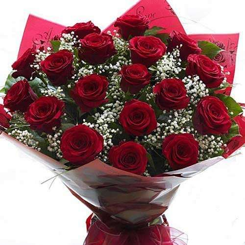 18 Red Roses - India Delivery Only