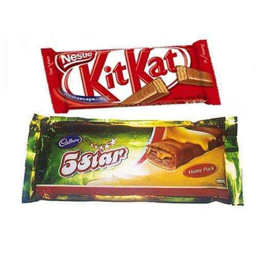 Cadbury Kit Kat and 5 Star - Australia Delivery