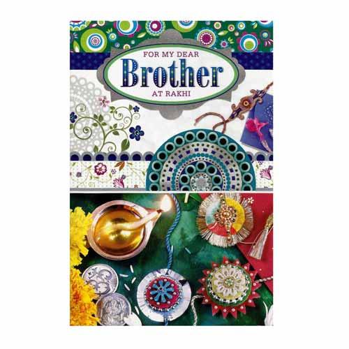 greeting card with rakhi  1  rs23500