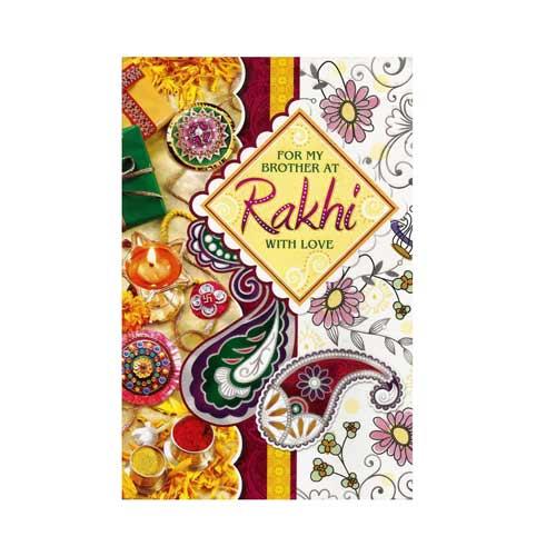 greeting card with rakhi  2  rs24500